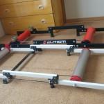 ELITISM サイクルトレーナー 3本ローラーとMINOURA MOZローラー
