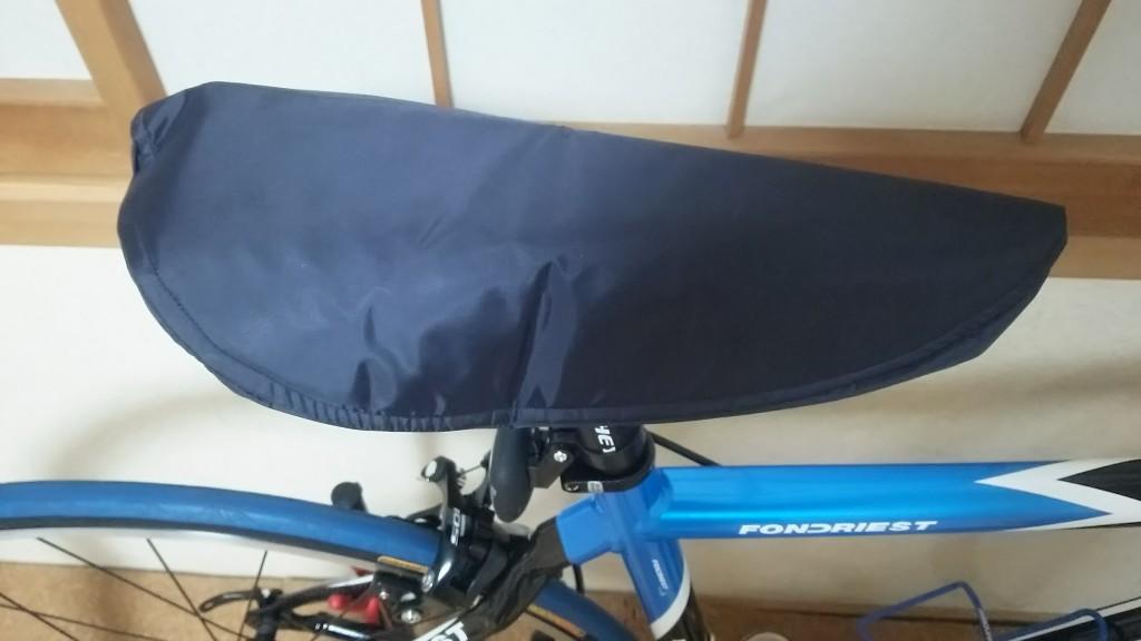 ロードバイク用サドルカバー